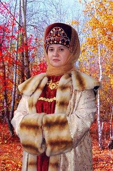 Autumn, Forest, Autumn Forest, Woman, Autumn Leaves