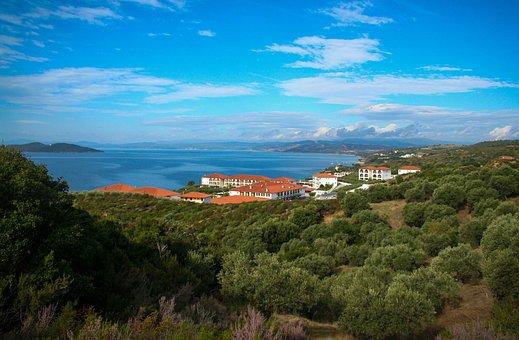Beach, Sea, Coast, Hotel, House, Landscape, Vacations