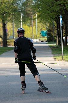 Inline Skating, Summer, Summer Sport, Roller Skates