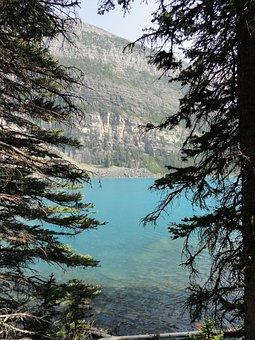 Lake, Water, Banff, Nature, Landscape, Reflection