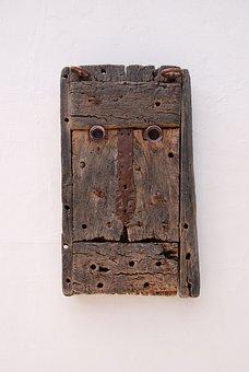 Cesar Manrique, Woodcarving, Lanzarote, Head Of Man