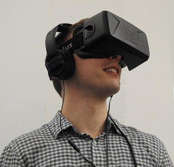 Man, Black, Virtual Reality, Oculus, Vr, Technology