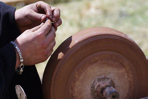 Craft, Craftsmen, Hands, Middle Ages, Art, Metal