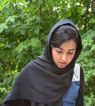 Girl, Afghanistan, Muslims, Islam, Veil, Joy, Woman