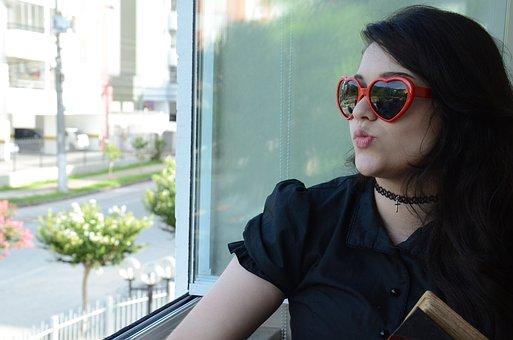 Sunglasses, Window, Neutral