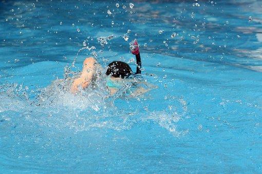 Pool, Swimming, Water, Diving, Fun, Holidays