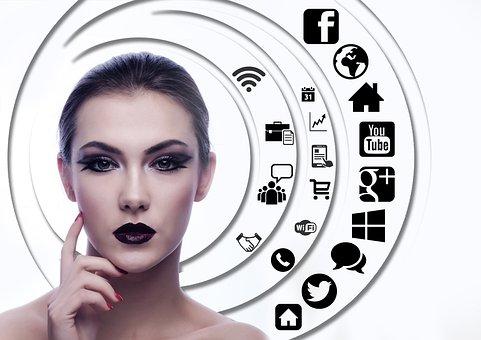 Woman, Face, Head, Question Mark, Circle, Tree