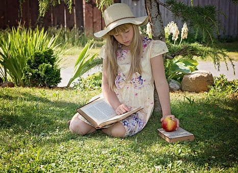 Child, Girl, Read, Learn, Book, Literature, Break, Out