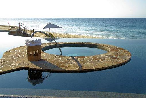 Cabo, San Lucas, Mexico, Sea, Resort, Swimming Pool