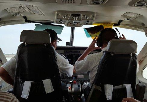Airplane, Pilots, Person, Travel, Cessna Caravan