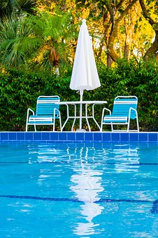 Swimming Pool, Chair, Water, Umbrella, Vacation