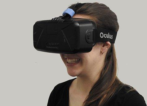 Woman, Vr, Virtual Reality, Technology, Virtual