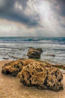 Sea, Stone, Ocean, Rock, Nature, Water, Landscape