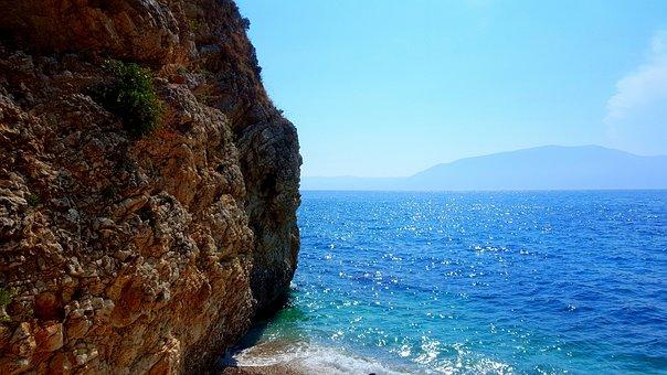 Sea, Water, Sand, Ocean, Wave, Travel, Sky, Beach