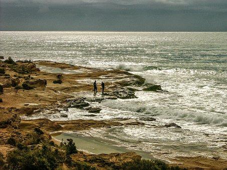 Alicante, After Orchards, Mediterranean Sea, Cloudy