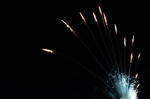 Fire, Artifice, Feast, Night, Evening, Dark, Hot, Fun