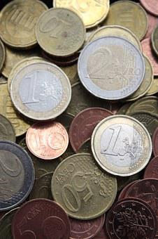 Euro, Money, Currency, Business, Cash, Metal, Banking