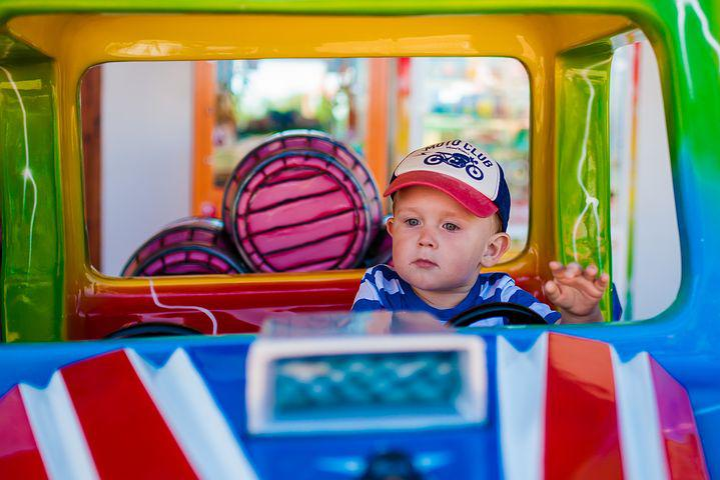 Child, Boy, Auto, Car, Toy, Fun, A Small Child