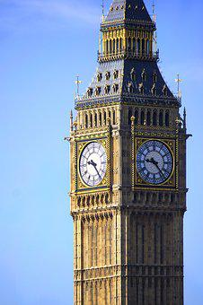Big Ben, Monument, Bridge, Center, City, Downtown