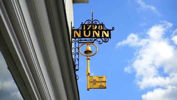 Sign, Key, Business, Symbol, Retail, Service, England