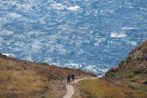 People Talking, Sea, Vacation, Capo Milazzo, Sicily