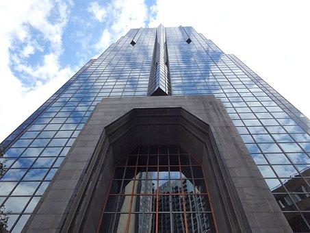 Skyscraper, Building, Architecture, City, Urban