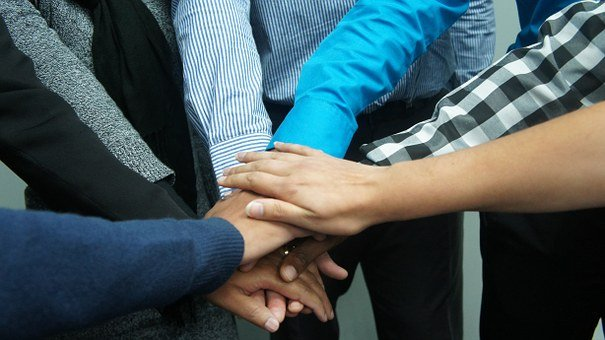 Teamwork, Co-workers, Office, Business, Team, People