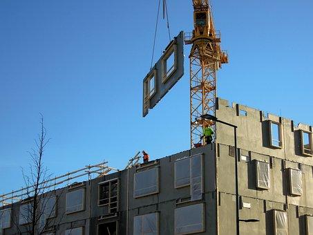 Construction Site, Building, Vantaa, Finnish
