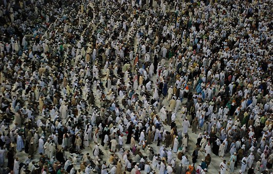 Hajj, People, Group, Persons, Crowd, Meeting, Human