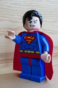 Superman, Toy, Lego, Hero, Super, Fun, Cute, Costume