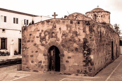 Cyprus, Dherynia, Ayios Georgios, Chapel, Church