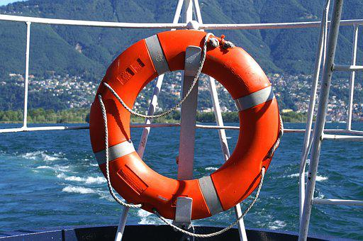 Lifebelt, District, Seafaring, Security, Shipping