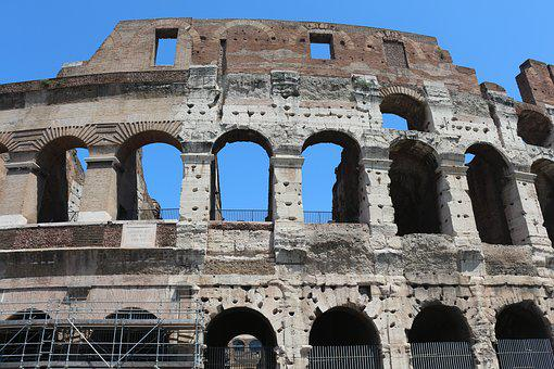Rome, Italy, Europe, Ancient, Architecture, Roman