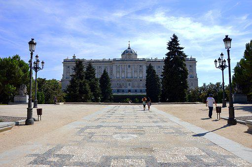 Spain, Palacio Real, Court, Monarchy, Abroad, Holiday