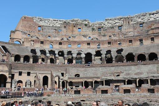 Rome, Italy, Coliseum, Culture, Historical, Stadium