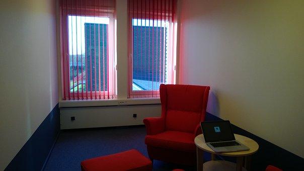 School, Meeting Room, Light, Sun, Armchair, Meeting
