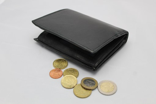 Money, Wallet, Euro, Cent, Coins, Loose Change, Pay