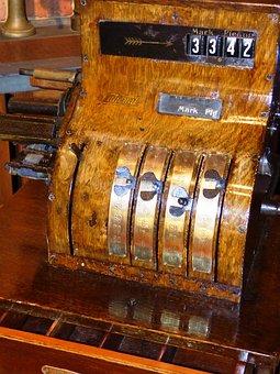 Safe, The Cashier, Amount, Old, Ancient, Antique