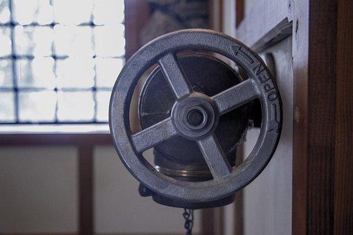 Valve, Wheel, Antique, Old, Open, Water, Pressure