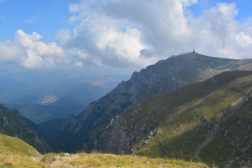 Relaxing, Trip, Bucegi, Romania, Mountain Range