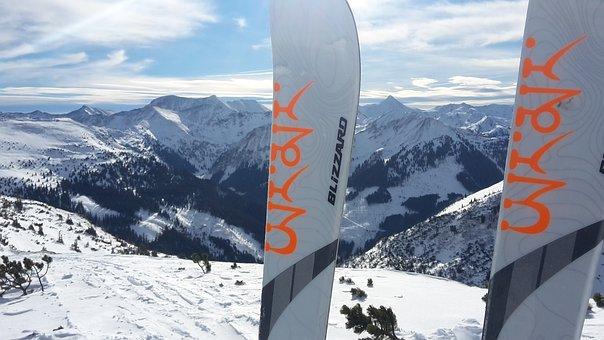 Snow, Ski, Ski Touring, Alpine, Touring Skis