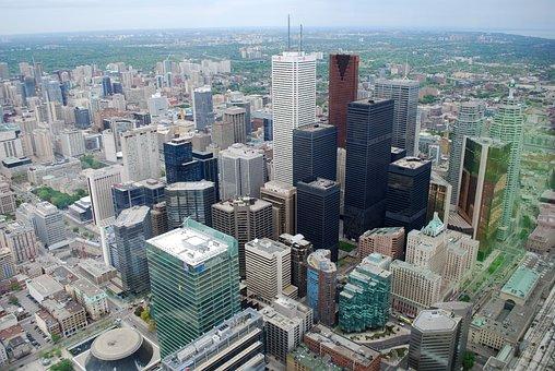 Downtown, Toronto, Buildings, Canada, City, Skyscraper