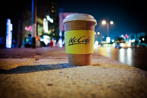 Coffee, Cup, Cafe, Night, City, Take Away