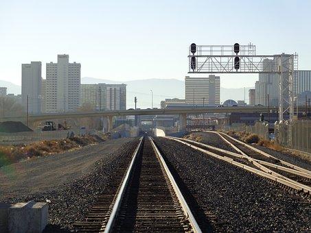 Railroad, Tracks, Transportation, Rail, Railway
