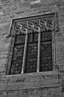 Window, Valencia, Slice, Spain, Architecture, Building