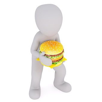 Burger, Eat, Double Whopper, Junk Food, Fast Food