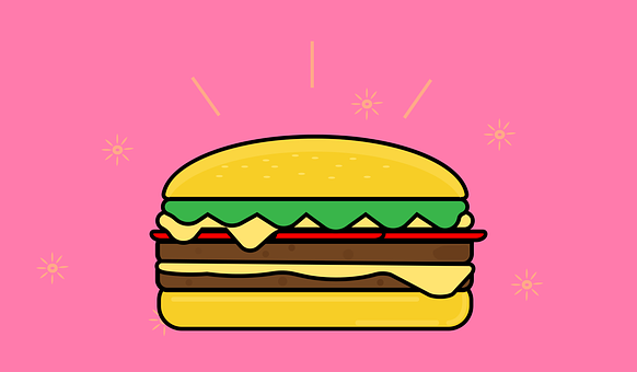 Burger, Food, Yummy, Tasty, Fast Food, Junk Food