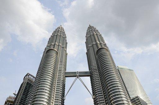 Petronas, Twin Tower, Skyline, Asia, Skyscrapers