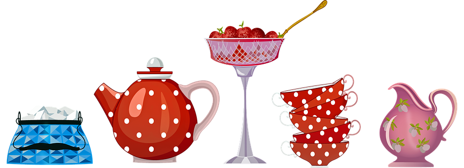 Teapot, High Tea, Delicious, Table, Breakfast, Bake