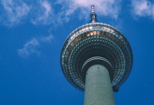 Tv Tower, Ball, Berlin, Landmark, Places Of Interest